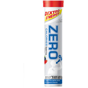 Dextro Energy Zero Calories Electrolyte Tabs 20 Pieces Berry